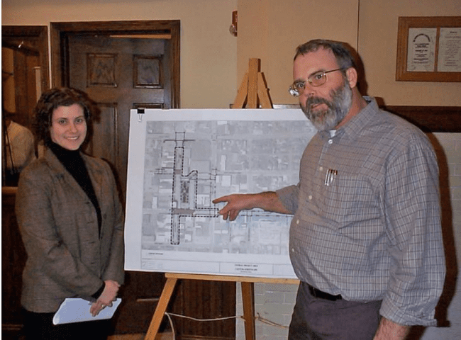 Canton Streetscape plan is presented to city!
