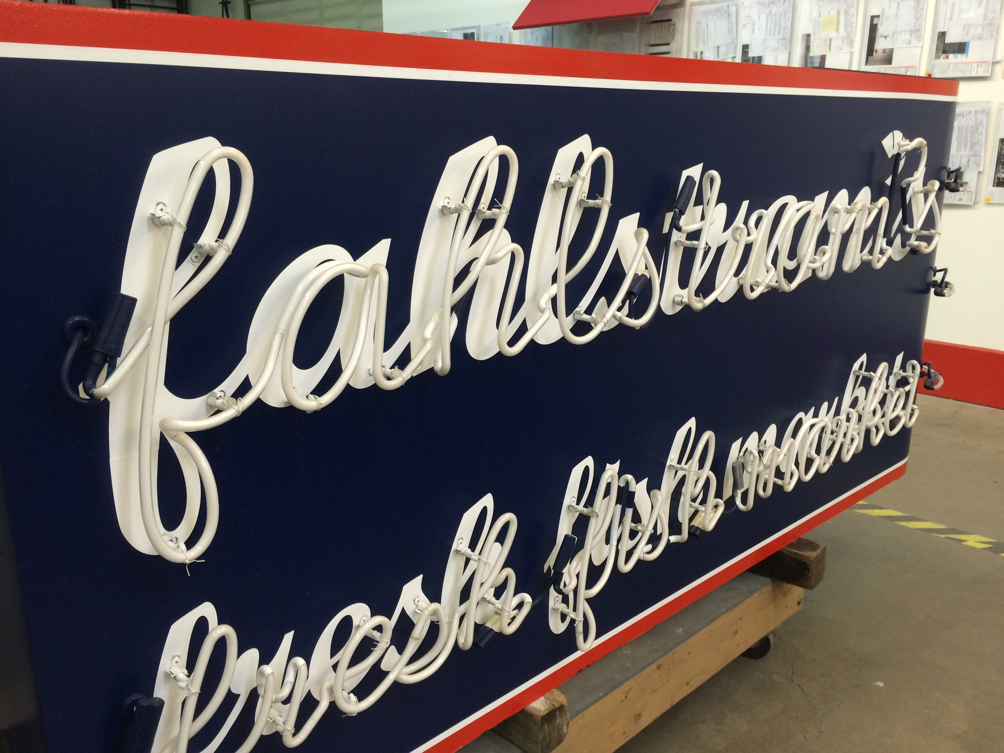 Field Trip to Parvin-Clauss Sign Company