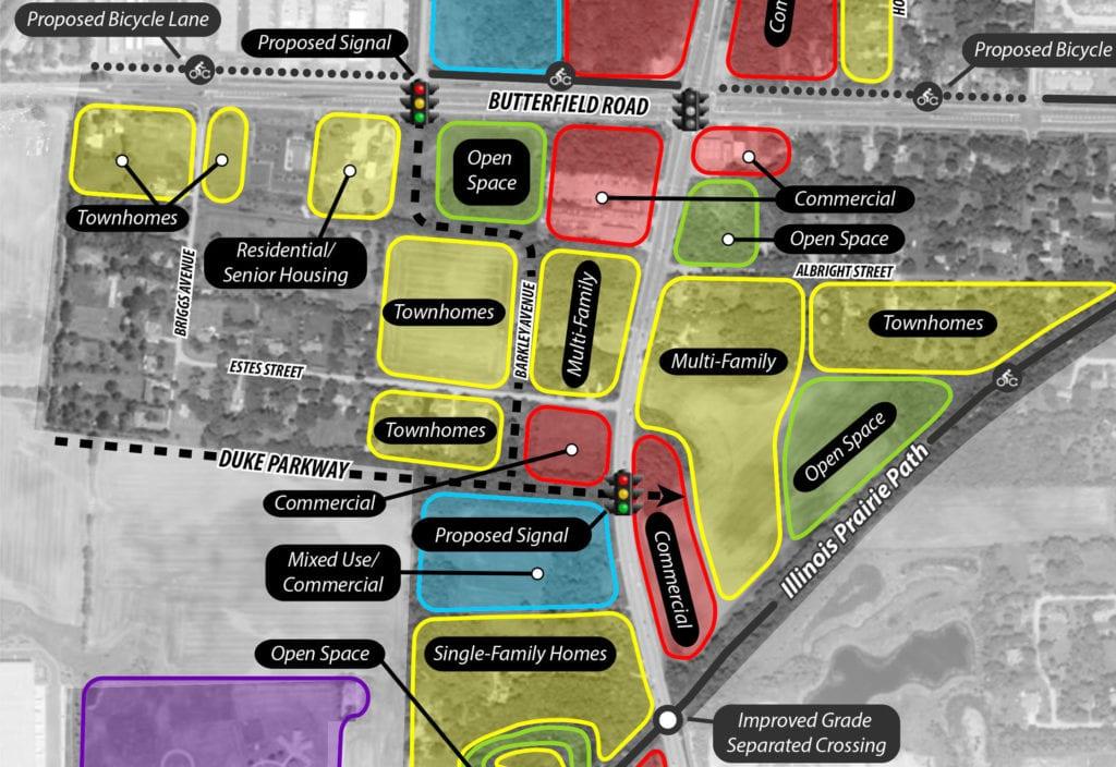 Warrenville SW District Plan + TIF