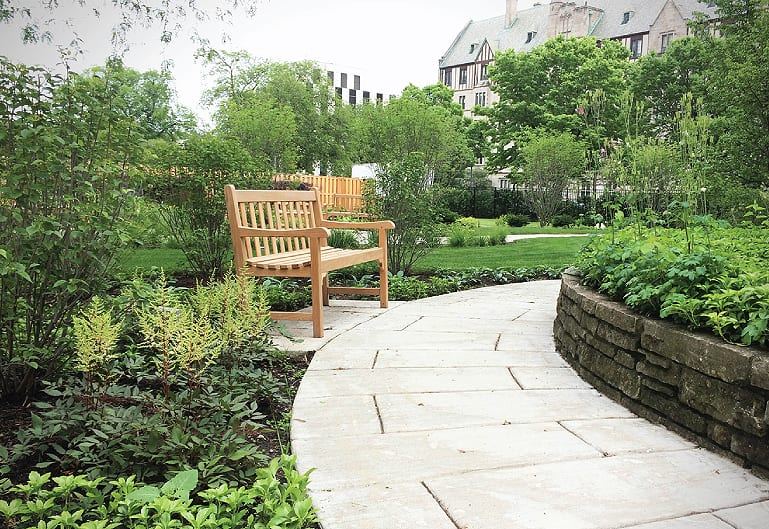 King Retirement Home Sensory Garden