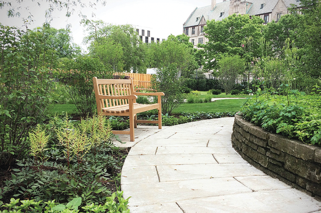 King Retirement Home Sensory Garden